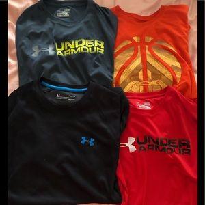 Men's UA shirts